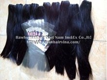 Picture of DOUBLE DRAWN STRAIGHT MACHINE WEFT HAIR 50CM( 20 INCHES)
