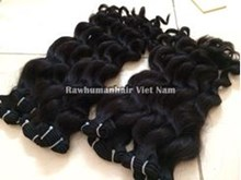 Picture of DOUBLE DRAWN CURLY WEFT HAIR 50CM( 20INCH)