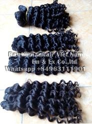 Picture of DEEP WAVE MACHINE WEFT HAIR 35CM ( 14INCHES)